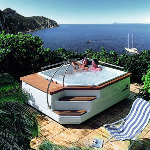 outdoor whirlpools. Black Bedroom Furniture Sets. Home Design Ideas